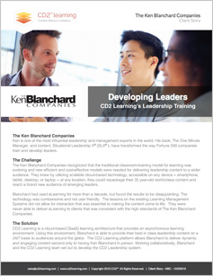 SITUATIONAL LEADERSHIP II - Ken Blanchard