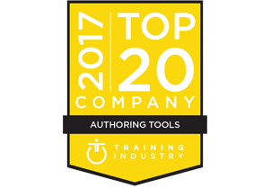 CD2 Learning selected as one of the Top 20 Authoring Tools by TrainingIndustry.com