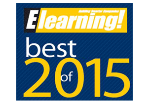 Best of Elearning! Award Finalist - eLearning - LCMS Category - 2015