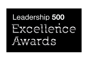 Leadership Excellence Award - Winner's Circle - Leadership 500 - 2015