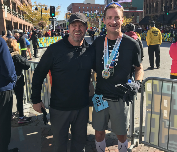 CD2 Learning CEO tackles back-to-back marathons
