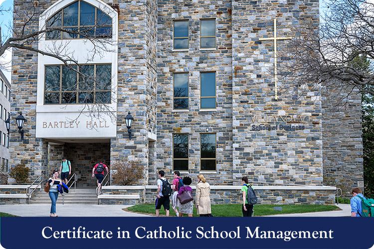 Certificate in Catholic School Management