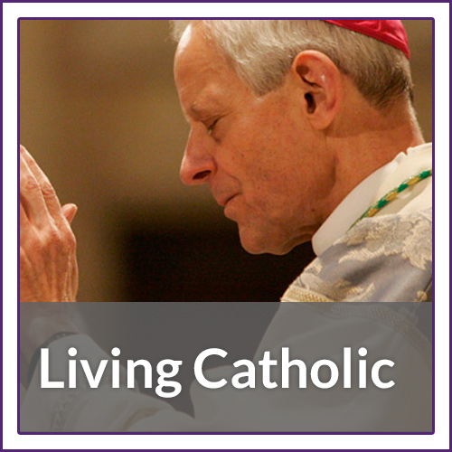 Living Catholic - online lessons that parallel the four parts of the Catechism