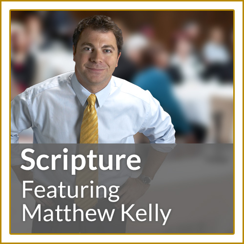 Scripture Course - over 60 fantastic videos featuring Matthew Kelly.