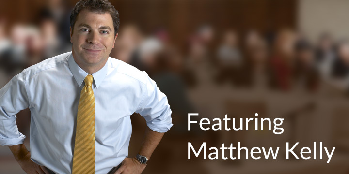 Testimonial from Matthew Kelly, founder of Dynamic Catholic